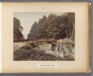 Work 26 of 50 Title: View of Sacred Bridge at Nikko Date: 188-?