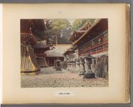 Work 28 of 50 Title: Temple at Nikko Date: 188-?
