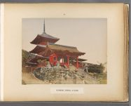 Work 34 of 50 Title: Kiyomidzu Temple at Kyoto Date: 188-?
