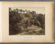 Work 40 of 50 Title: Road up Otagiri Hill at Nigata Date: 188-?