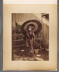 Work 50 of 50 Title: Japanese woman with parasol dressed for ... Date: 188-?
