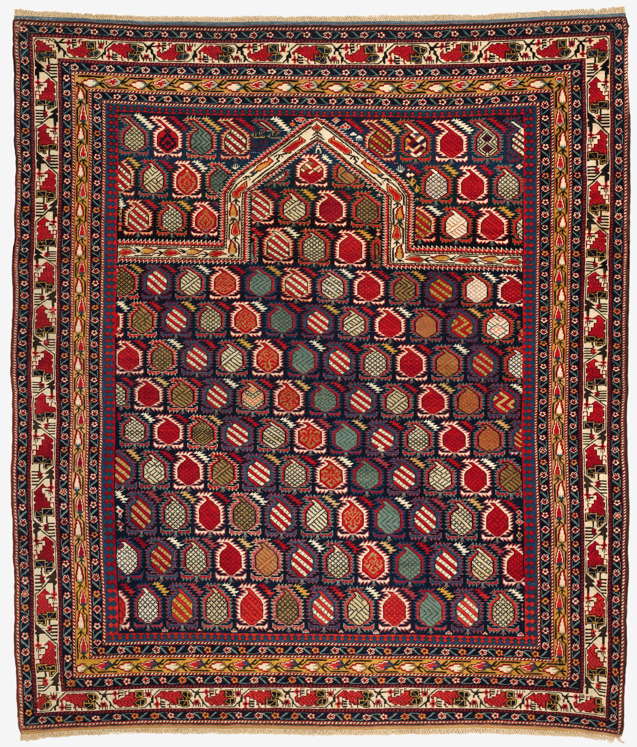 Prayer Rug Types: From The Harvard Art Museums' Collections Prayer Carpet