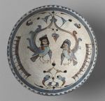 Bowl with Harpies