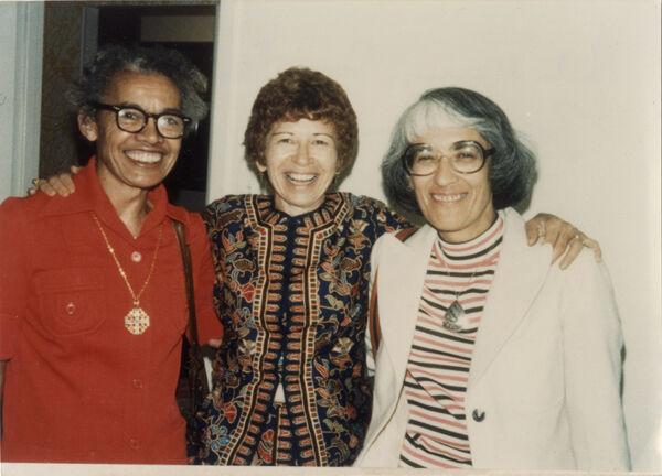 Pauli Murray, Sonia Pressman Fuentes and Bernice Sandler