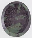Intaglio: Hanging Figure Attacked By A Lion And Eagle, With Eros