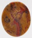 Intaglio: Aphrodite Anadyomene