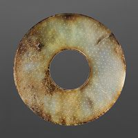 Large Jade Disk