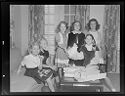 Untitled (Six Girls At Birthday Party, Opening Presents)