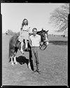 Untitled (Couple With Horse In Field)