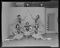 Untitled (Five Lockhart Baton Girls In Formation)