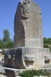 Xanthos Obelisk, Agora, Xanthos, Lycia, Turkey