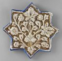 Star Tile With Lotus Decoration