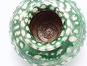 Jar With Green Splashes