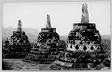 Untitled (Perforated Stupas, Borobudur, Java)