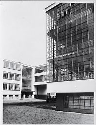 Bauhaus Building, Dessau, 1925-1926: Workshop Building From The West