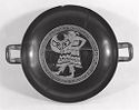 Kylix (Drinking Cup): Warrior In Thracian Costume