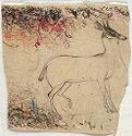 Drawing Of A Pet Antelope