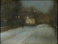 Nocturne In Grey And Gold: Chelsea Snow