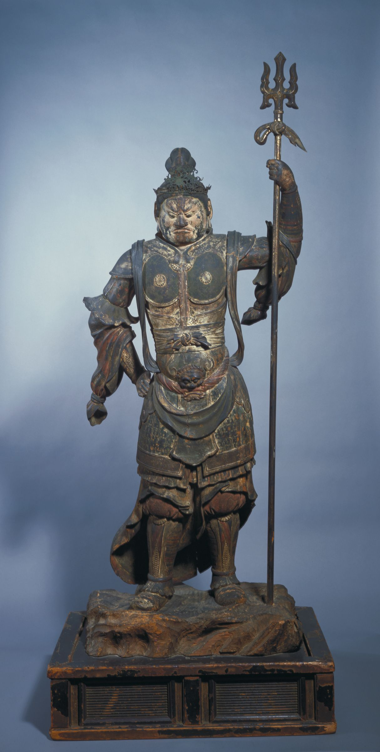 Zôchôten (Virûdhaka), Guardian King Of The South: One Of The Shitennô (Devarãjas) Or Four Heavenly Guardian Kings