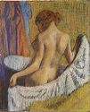 After The Bath, Woman With A Towel
