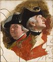 Colonel Ernst August Von Hugo And Lt. Colonel Von Schlepegrell