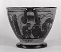 Skyphos (Drinking Cup): Preparation Of Clay Or Agricultural Scene