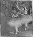 Two Dancers Entering The Stage