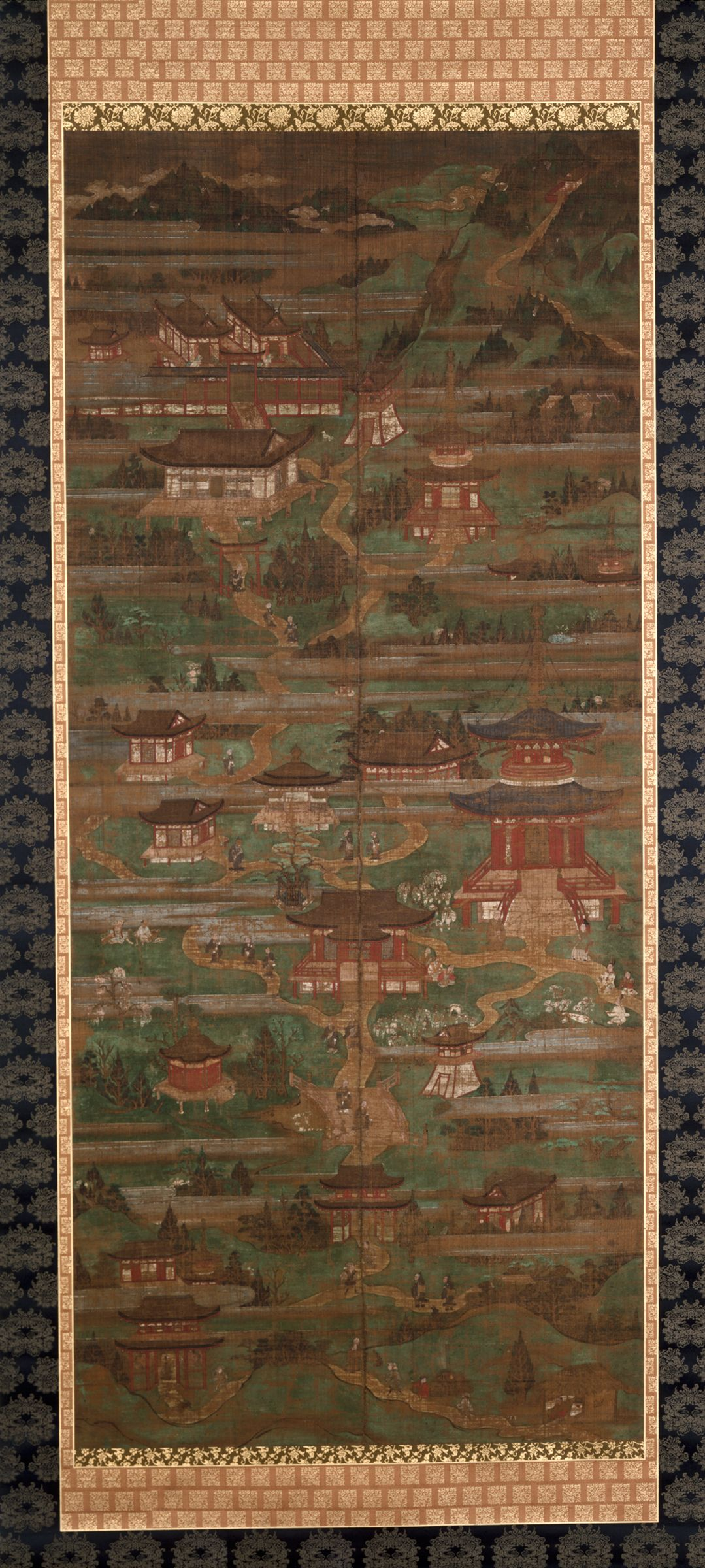 Mandala Of Mount Kôya (Kôyasan Mandara)