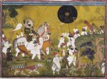 Maharana Bhim Singh of Mewar Returns from a Boar Hunt