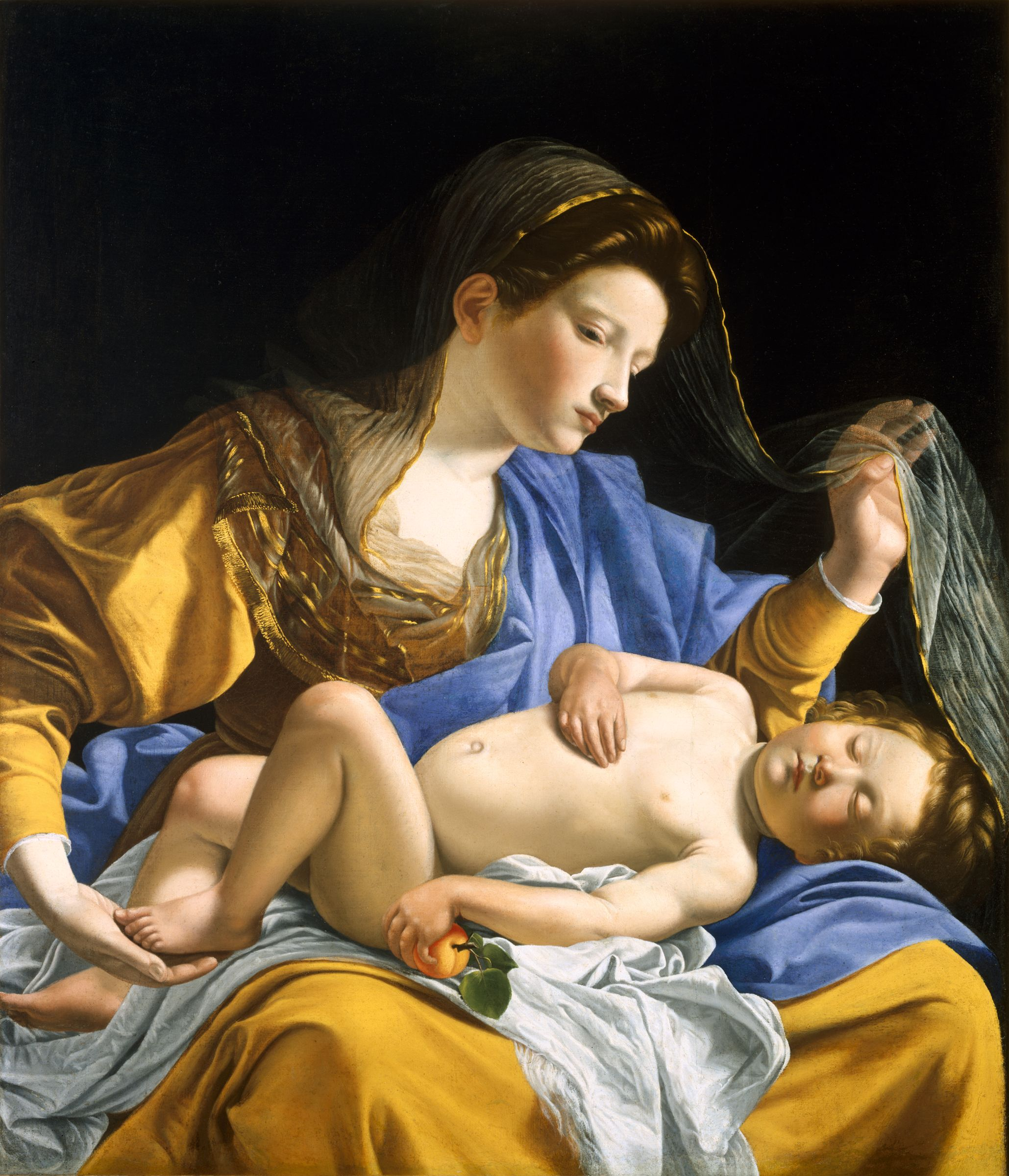 The Virgin With The Sleeping Christ Child