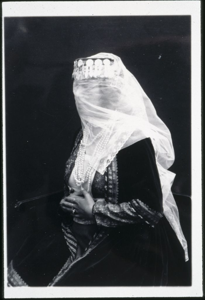 Untitled (Woman In Traditional Dress With A White Veil)