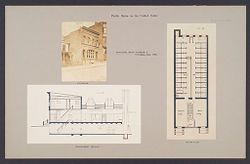 Health, Baths: United States. New York. Yonkers. Municipal Bath Number 2: Public Baths in the United States: Municipal Bath Number 2. Yonkers, New York..   Social Museum Collection