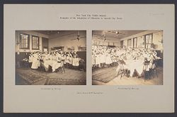 Education, Industrial: United States. New York. New York City. Public Schools, Adaptation to Special Needs: New York City Public Schools. Examples of the Adaptation of Education to Special City Needs: Public School No. 37 Manhattan..   Social Museum Collection