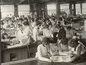 Industrial Problems, Welfare Work: United States. Ohio. Dayton. National Cash Register Company: Welfare Institutions Of The National Cash Register Company, Dayton, Ohio: Conveniences For Women Employees: Recess In A Women's Department.