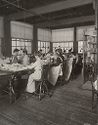 Industrial Problems, Welfare Work: United States. Ohio. Dayton. National Cash Register Company: Welfare Institutions Of The National Cash Register Company, Dayton, Ohio: Conveniences For Women Employees: High Backed Chairs.