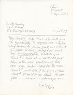 Gallery correspondence and floor plans: Hirschl & Adler Modern, 1983-87