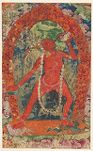 Tantric Female Deity Drinking from Skull Cup (Vajrayogini)
