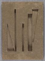 Untitled (Incised Plaster)
