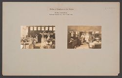 Industrial Problems, Welfare Work: United States. New York. New York City. National Biscuit Co.: Welfare of Employees at the Factory, Welfare Institutions, National Biscuit Co., New York City..   Social Museum Collection