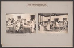 Races, Negroes: United States. Virginia. Hampton. Hampton Normal and Industrial School: Agencies Promoting the Assimilation of the Negro. Training for Commercial and Industrial Employment. Hampton Normal and Agricultural Institute, Hampton, Va..   Social Museum Collection