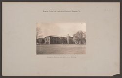 Races, Negroes: United States. Virginia. Hampton. Hampton Normal and Industrial School: Hampton Normal and Agricultural Institute, Hampton, Va.: Domestic Science and Agriculture Building..   Social Museum Collection