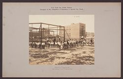 Recreation, Parks and Playgrounds: United States. New York. New York City. 66th Street & Avenue A Vacation Playground:  New York City Public Schools. Examples of the Adaptation of Education to Special City Needs: Vacation Playground. 66th Street & Ave. A, Manhattan..   Social Museum Collection