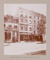 Religious Agencies, Salvation Army: United States. New York. New York City. Workingmen's Hotels: The Salvation Army: Workingmens' Hotel, Avenue A, New York City.