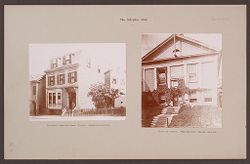 Religious Agencies, Salvation Army: United States. Massachusetts.  Boston. Women's Rescue Home; Rhode Island. Providence. Rescue Home: The Salvation Army.   Social Museum Collection
