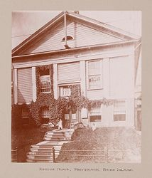 Religious Agencies, Salvation Army: United States. Rhode Island. Providence. Rescue Home: The Salvation Army: Rescue Home, Providence, Rhode Island..   Social Museum Collection