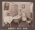 Industrial Problems, Welfare Work: United States. Ohio. Dayton. National Cash Register Company: Welfare Institutions Of The National Cash Register Company, Dayton, Ohio: Conveniences For Women Employees: Women's Bath Room.