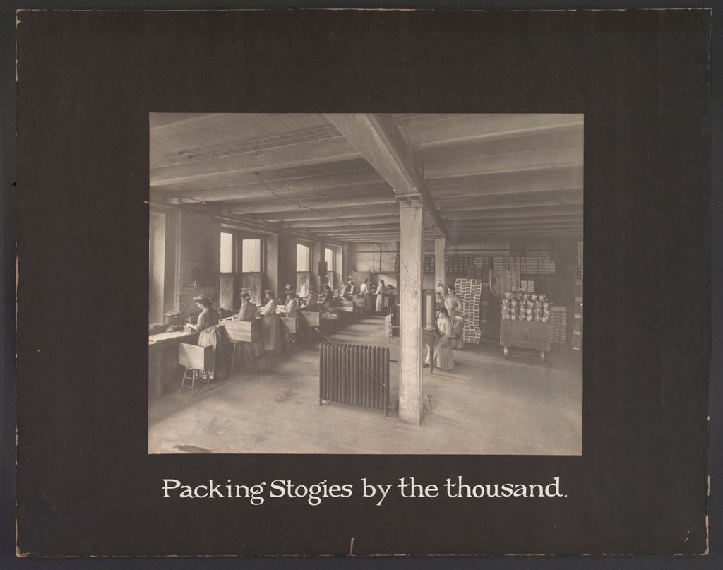 Industrial Problems, Conditions: United States. Pennsylvania. Pittsburgh. Pittsburgh Survey: Packing Stogies By The Thousand.