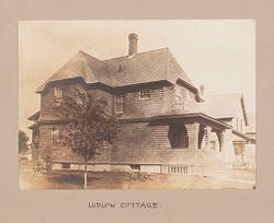 Industrial Problems, Welfare Work: United States. Massachusetts. Ludlow. Ludlow Manufacturing Association: Industrial Betterment in the United States. Housing of Working People by Employers: Ludlow Manufacturing Association, Ludlow Massachusetts. Ludlow Cottage.: Ludlow Cottage..   Social Museum Collection