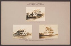 Industrial Problems, Welfare Work: United States. Massachusetts. North Plymouth. Plymouth Cordage Company: Industrial Betterment in the United States. Housing of Working People by Employers: Plymouth Cordage Company, North Plymouth, Massachusetts..   Social Museum Collection