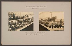 Industrial Problems, Welfare Work: United States. Massachusetts. North Plymouth. Plymouth Cordage Company: Plymouth Cordage Company, North Plymouth, Mass. Welfare Institutions: Exhibit of Flowers And Vegetables Grown By The Employees In Their Own Gardens - Plymouth Cordage Co., North Plymouth Mass..   Social Museum Collection